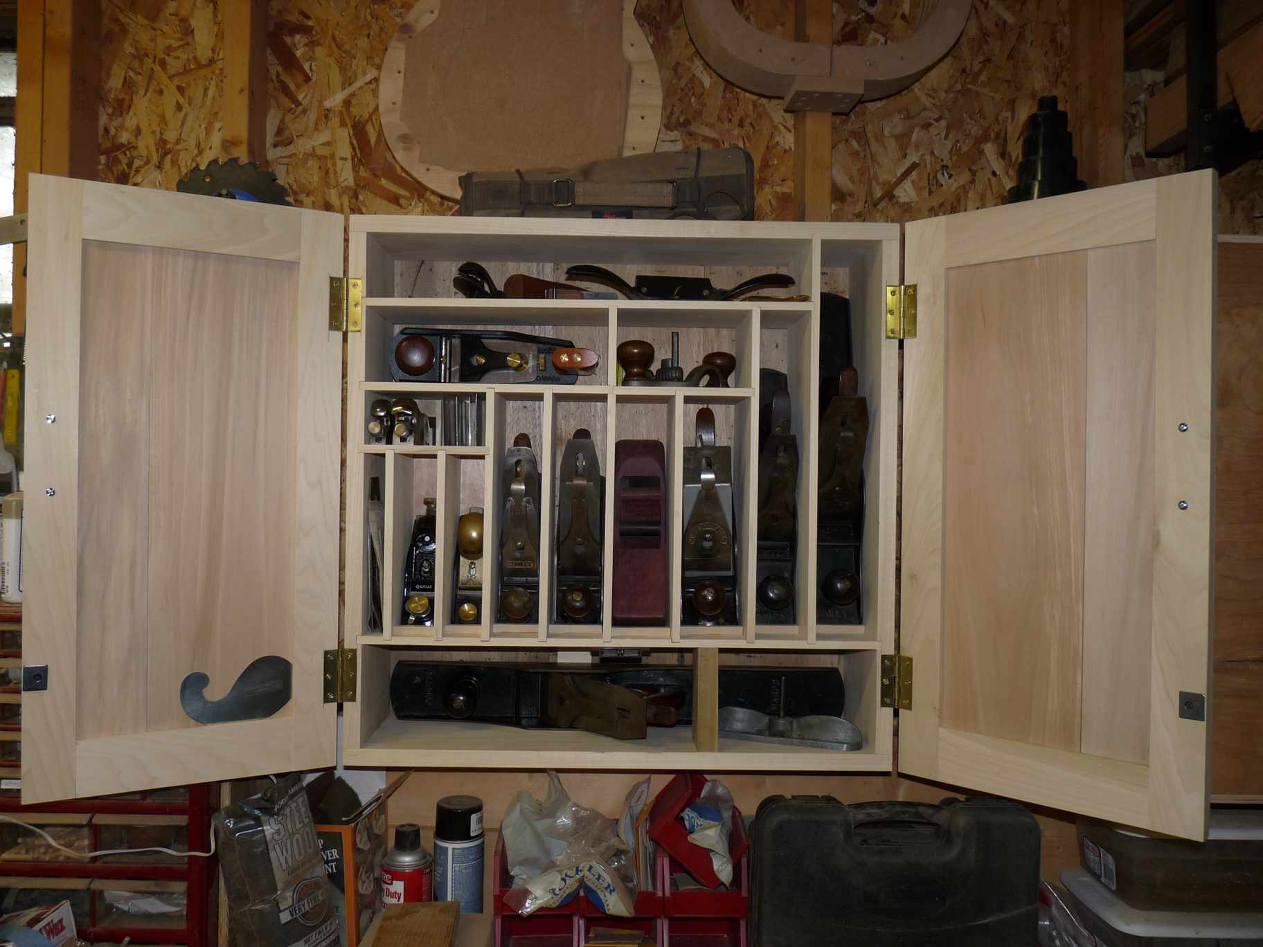 PDF Plans Hand Plane Cabinet Download build with balsa ...