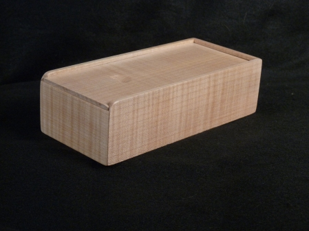 Curly maple pill box